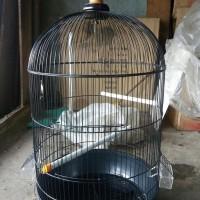 GRAB GOJEK SANGKAR KANDANG BESI JUMBO UNTUK LOVEBIRD BEO PALEK