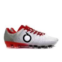 Sepatu Bola Ortuseight Catalyst Oracle FG - Black Ortrange Pale Cyan