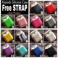 Terbaru Apple Airpods Silicone Case Protective Cover Pouch Terbaru