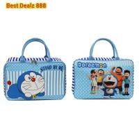 Terbaru Tas Travel Bag Koper Kanvas Renang Anak Dewasa Doraemon