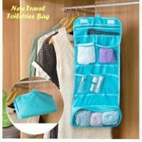 Paling Murah Toiletries Bag Organizer / Hanging Toiletries Travel Bag
