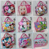 Paling Laris Tas Travel Bag Koper Selempang Anak Minnie Mouse Ukuran