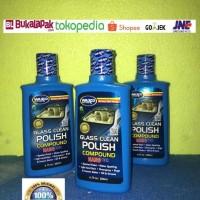 Waxco Glass Clean Polish Compound pembersih jamur kaca mobil 200 ml