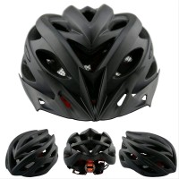 Helm sepeda EPS PVC shell dengan lampu backlight