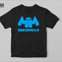 Kaos Baju T Shirt Distro Marshmello EDM X9744