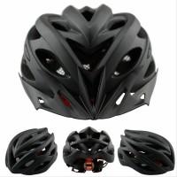 SALE Helm Sepeda EPS PVC Shell dengan Lampu Backlight NEW