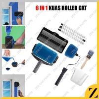 Alat Kuas Roll Tabung Cat Dinding Otomatis Pertukangan DIY Rum