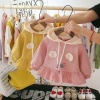 [SKIC]Autumn Kids Girl Outerwear Dress Child Cartoon Print Casual