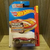 Hot Wheels Clear Speeder Race - Orange .