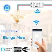 smart switch wifi/saklar wireless