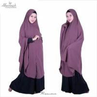 hijab syari non pet XXL khimar wolfis