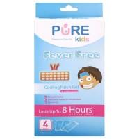 Pure Kids Fever Free (4 Sheets) Original 100%