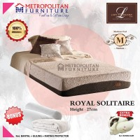 Kasur Spring bed LADY AMERICANA Royal Solitaire 160 x 200 Springbed