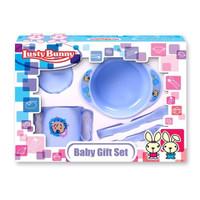 Lusty Bunny Perlengkapan Tempat Makan Set Bayi Alat Feeding Gift Set