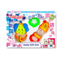 Lusty Bunny Mainan Baby Edukasi Rattle Teether Bayi Set Kerincingan