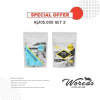 WORCAS Special Bundle Promo 2 Kopi Arabica Import 200gr Single Origin