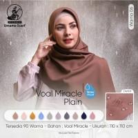 Hijab Jilbab Kerudung Segiempat Voal Miracle Waterproo ( Lc) By Umama