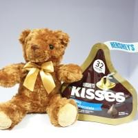 Hershey's Kisses Besar 146 gr BONUS Teddy Bear Lucu