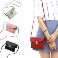 Slingbag korea - tas selempang petak - sling bag tas korea cantik