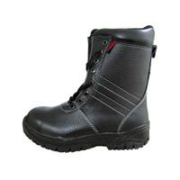 Sepatu Safety Murah / Safety Shoes Track Raktayoo TR 003H (Hitam)