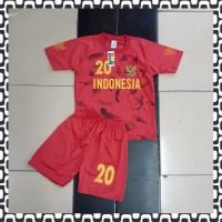 Setelan Bola Anak Timnas Indonesia Baru 1-9 thn