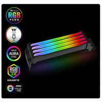 Thermaltake Pacific R1 Plus DDR4 RGB LED Memory Ram Cover Lighting Kit
