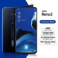 Hp OPPO RENO 2 RAM 8GB ROM 256 GB NEW Garansi resmi 1 tahun