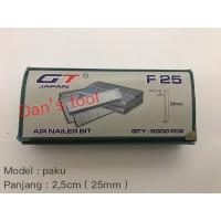 Refill paku air nailer F25 / Nailer Elektrik / Isi Paku Air Nailer