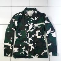 Coat Shirt BDU Army Woodland USA Kemeja Army Military Camo Rothco