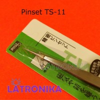 Pinset Elektronik TS-11 Jepitan SMD Jepit Komponen Electronic TS11