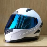 Snail FFS1 white visor blue spoiler 3D ori