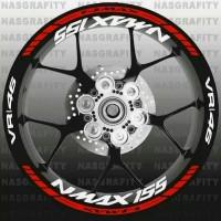 List velg nmax 155 variasi cutting sticker