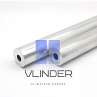 Pipa Aluminium OD 22 mm x ID 8 mm, t. 7.0 mm