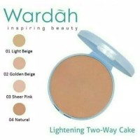 Wardah Refill Lightening Two Way Cake Extra Cover 10g