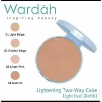 Wardah Refill Lightening Two Way Cake Light Feel