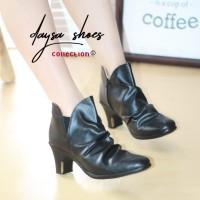 daysa -sepatu boots wanita psa 14 - Hitam, 37