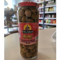 Figaro Stuffed Green Olives with Pimento 450g / Acar Buah Zaitun Hijau