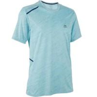 Kalenji Run Dry + Men'S Running T-Shirt / Kaos Olahraga Pria 100%