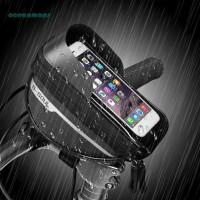 Tas sepeda frame depan hp 5.5 inch anti air original waterproof murah