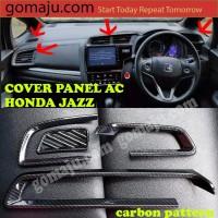 COVER CARBON PANEL AC HONDA JAZZ GK5 2014-2018 COVER AC HONDA JAZZ