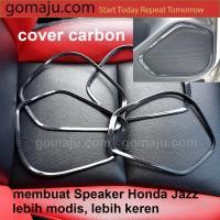 COVER SPEAKER HONDA JAZZ GK5 14/18 COVER PLASTIC CARBON SPEAKER JAZZ