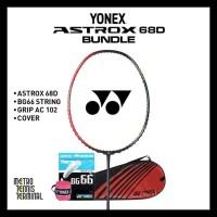 YONEX ASTROX 68 D BUNDLE ( RAKET BADMINTON ) KODE 1196