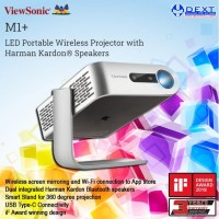 ViewSonic M1+ LED Portable Wireless Projector with Harman Kardon®