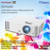 ViewSonic PX701HD 3,500 ANSI Lumens projector for home and business