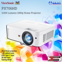 ViewSonic PX706HD 3,000 Lumens Home Projector