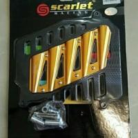 |Terlaris|| Cover Radiator Nmax Scarlet CNC Cover Radiator Aerox