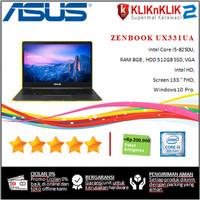 ASUS ZENBOOK UX331UA-Intel Core i7-8250U-8GB-512GB- SLATE GREY