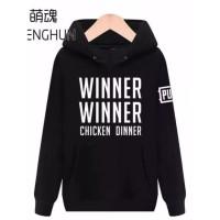 Barang Baru Hoodie Sweater Pubg Winner Winner Chicken Dinner