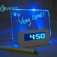 [Bayar Di Tempat]Everso Jam Alarm Elektronik Layar Besar Dengan