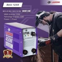 LAKONI Basic 123 ix Travo Las Mesin Las 450 Watt Falcon 123 ix